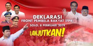 Partai Rakyat Berbalik Dibelakang Jokowi – Ma'ruf, Setelah Menyaksikan Debat Pilpres