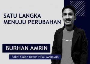 Selamatkan Organisasi, Burhan Amrin Siap Bertarung IPMI-Makayoa