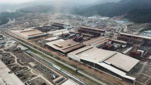 Kawasan IWIP Mulai Bangun Konstruksi Pabrik Bahan Baterai Kendaraan Listrik