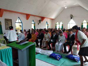 7 Pasangan Warga Desa Goeng Halteng Dinikahkan Secara Masal