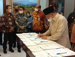 Gubernur Malut bersama Gubernur Enam Provinsi Tandatangani Perjanjian Kerja Sama Sektor Kelautan
